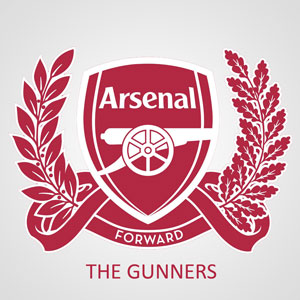 Logo Arsenal The Gunners