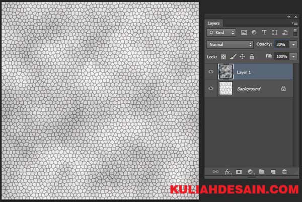 Tutorial Membuat Tekstur Kulit di Photoshop